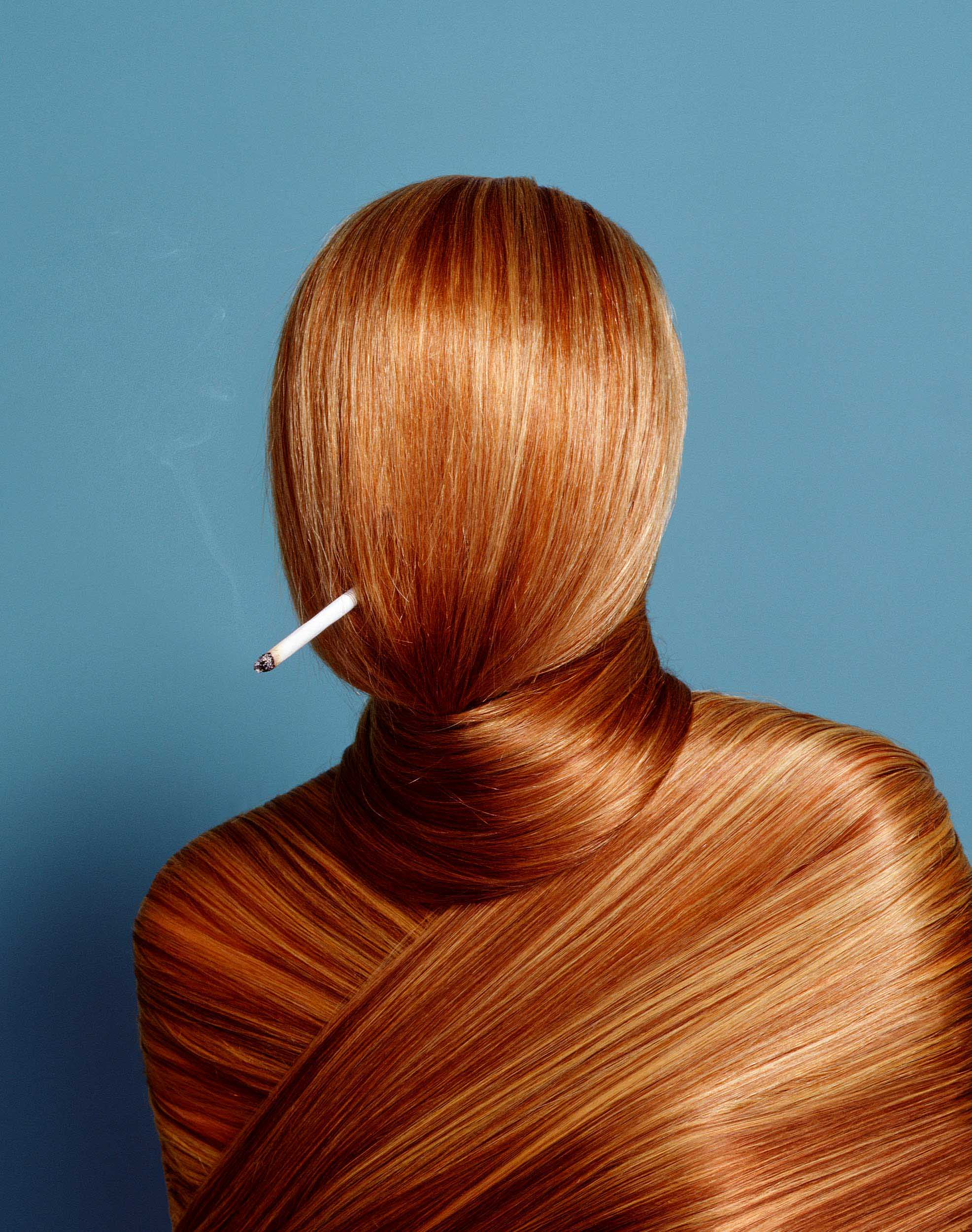Smoking Hair