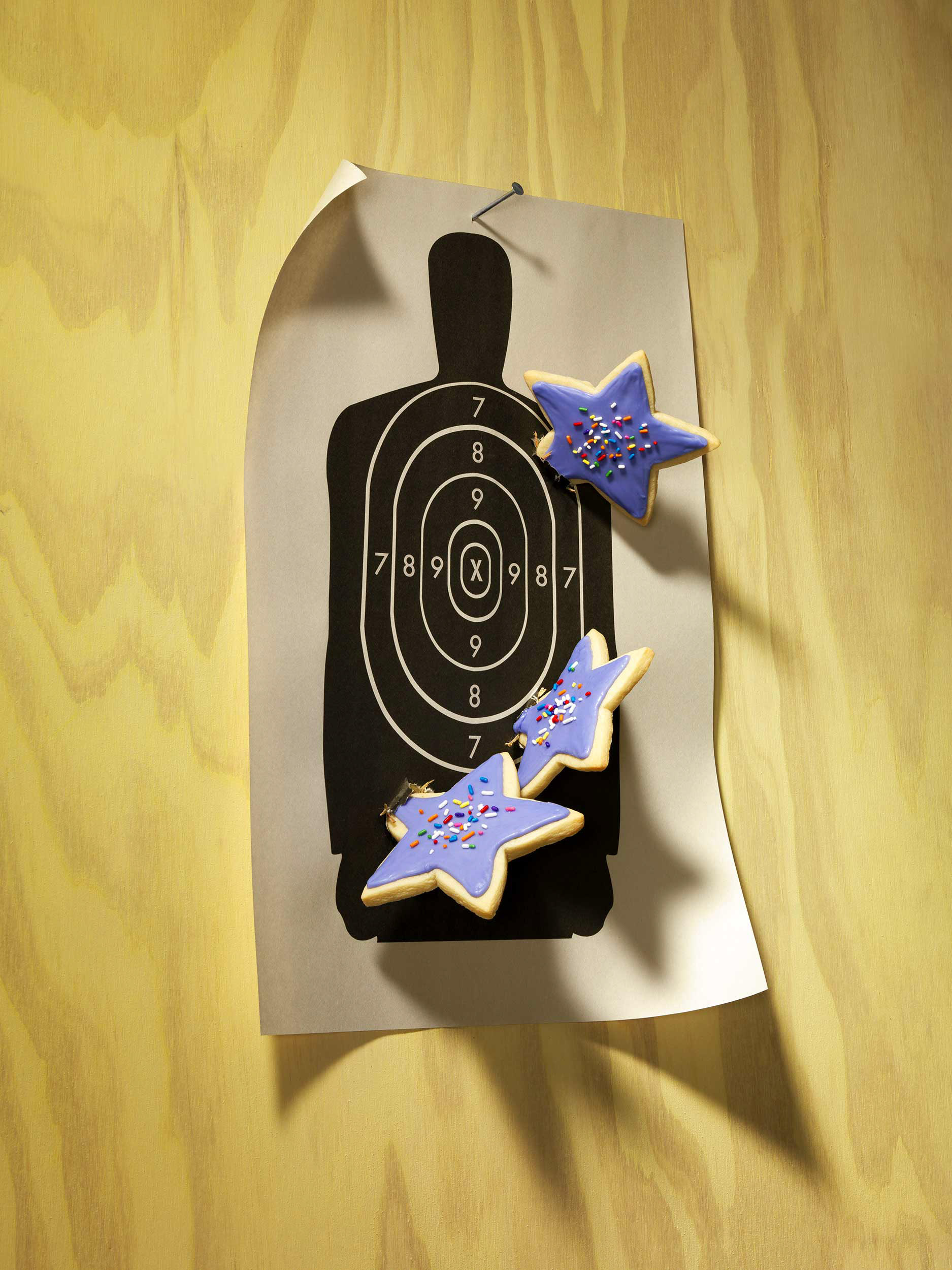 Throwing Star Cookies